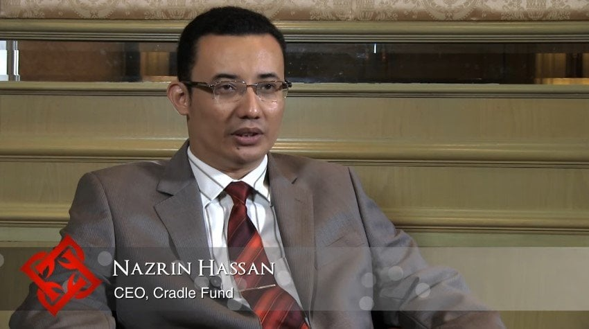 Cradle Fund CEO, Nazrin Hassan Smartphone Battery Explosion