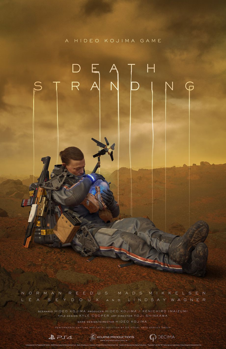 Death Stranding gameplay and trailer