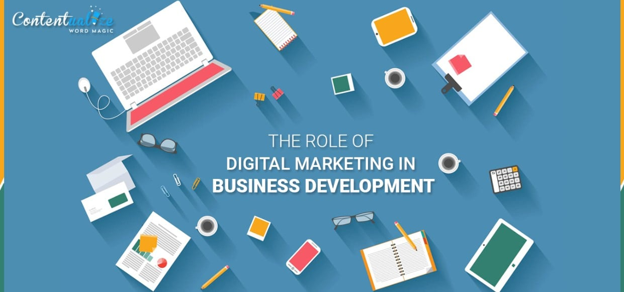 Digital Marketing In The Development Of Business