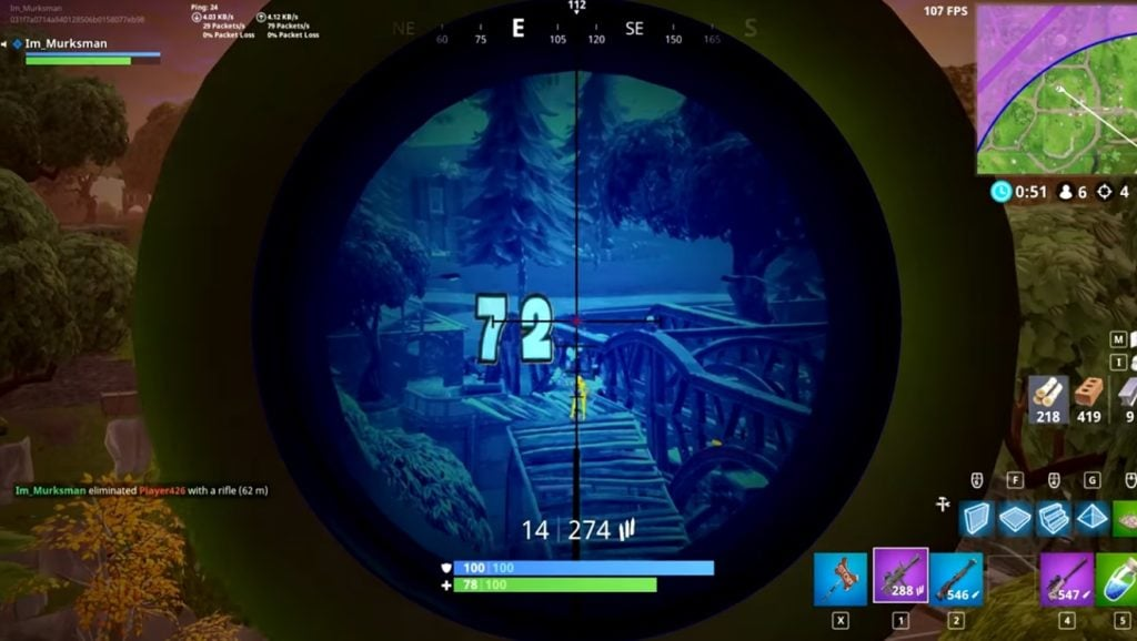 Thermal Scoped Assault Rifle Legendary Fortnite Weapon