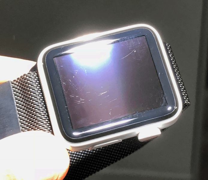 Scratches On An Apple Watch