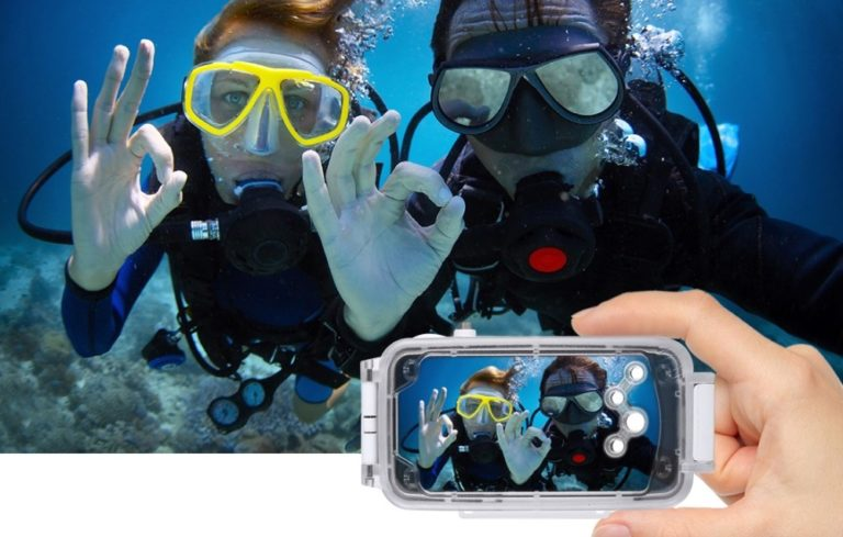 pretty nice 66994 08764 iPhone X Underwater Photography Made Possible By New Diving Case