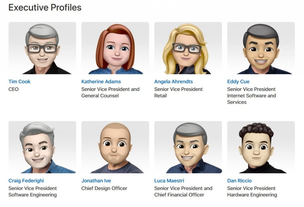Apple's Memojis