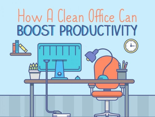 Clean Working Environment Can Boost Productivity