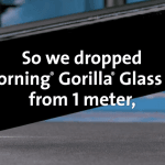 Corning Gorilla Glass 6 on Galaxy Note 9 and iPhone X Plus
