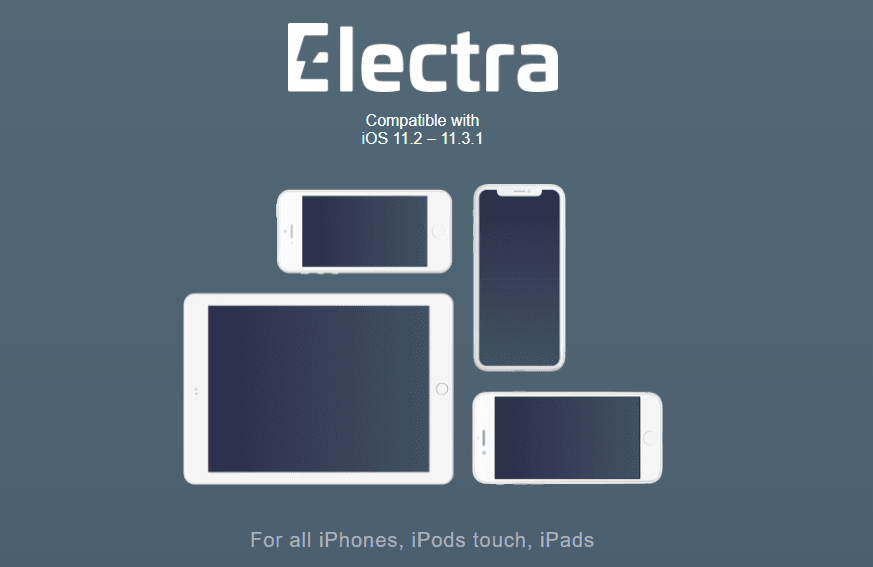Download Electra iOS 11.3.1 Jailbreak Tool
