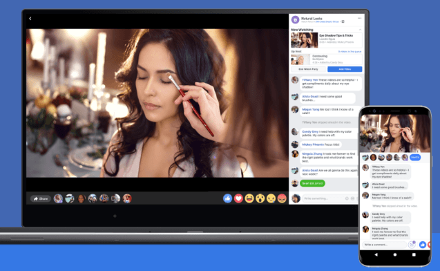 Facebook Watch video service