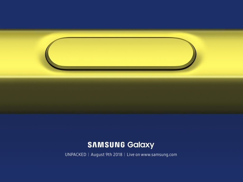 Galaxy Note 9 Features