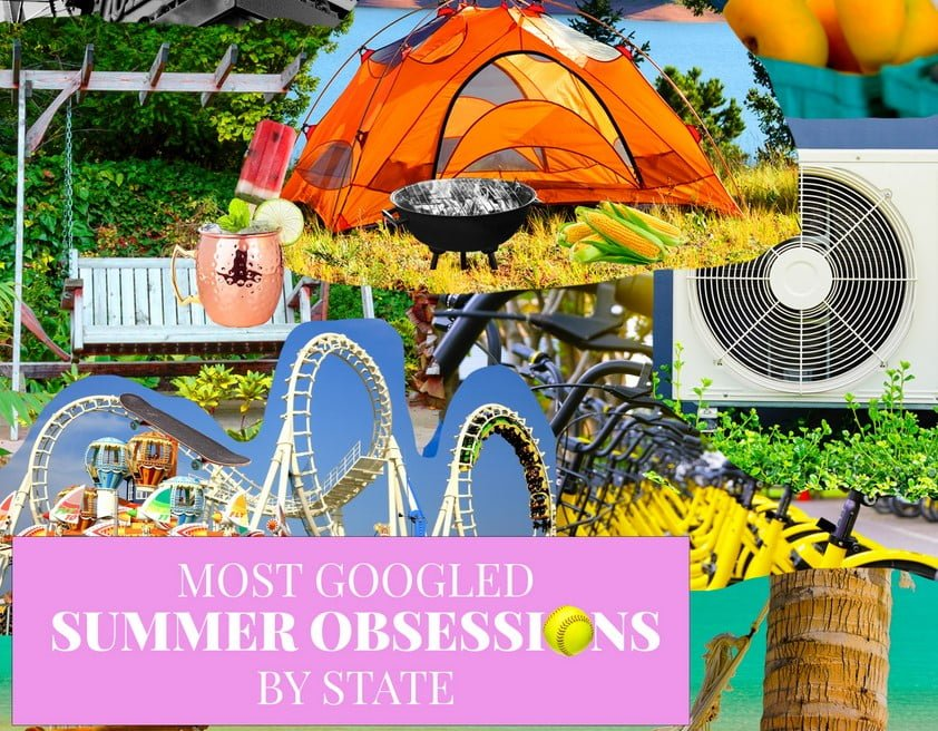 Most Googled Summer Obsessions By State