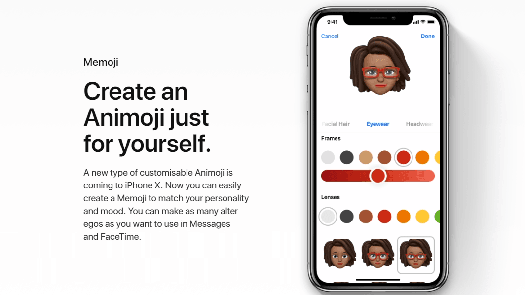 Apple iOS 12 Memoji