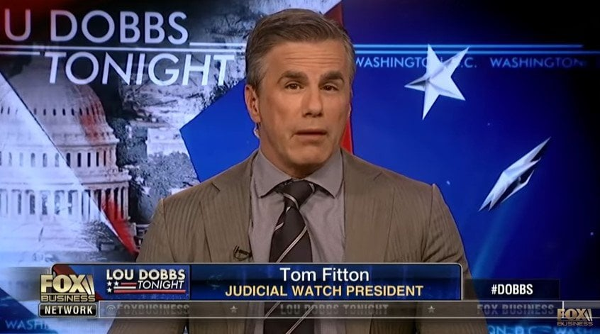 Tom Fitton Mueller Probe