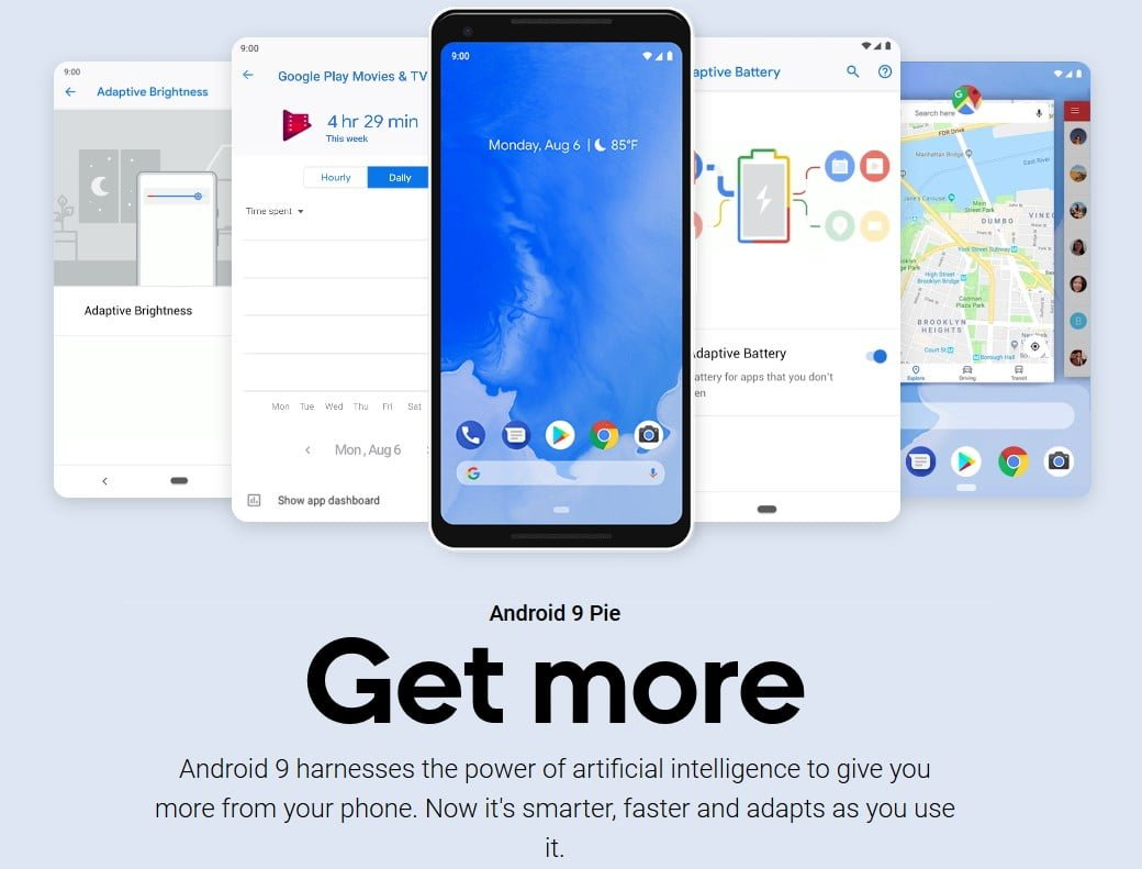 Delicious! Android 9 Pie Arrives To Pixel Phones