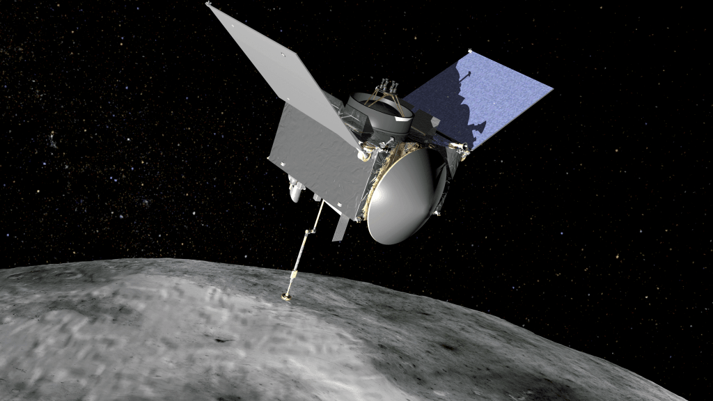 Asteroid-Sampling Spacecraft Big Asteroid Bennu
