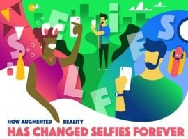 How Augmented Reality Filters Changed Selfies Forever [INFOGRAPHIC]