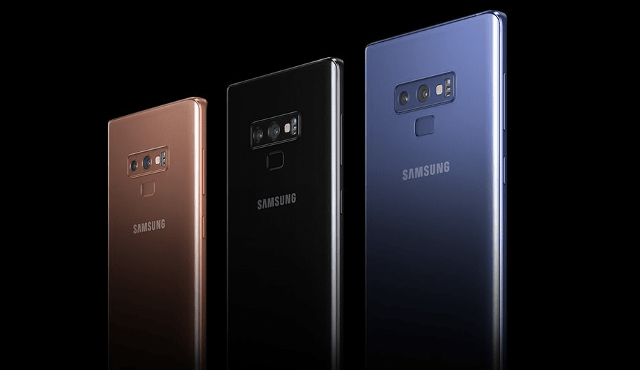 Galaxy Note 9 vs OnePlus 6 vs iPhone X