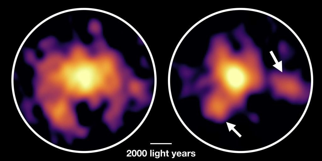 Unstable Galaxy Forms Stars Faster Than The Milky Way