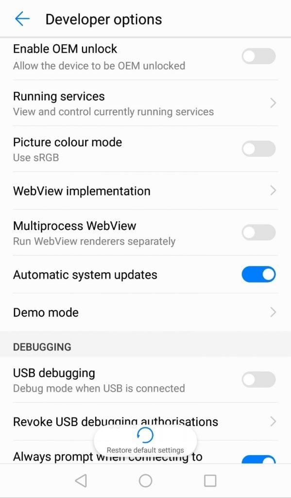 Android Pie Update On Pixel XL