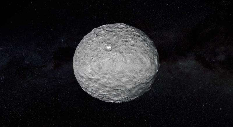 Dwarf Planet Ceres Hosts Ice-Spewing Volcanoes