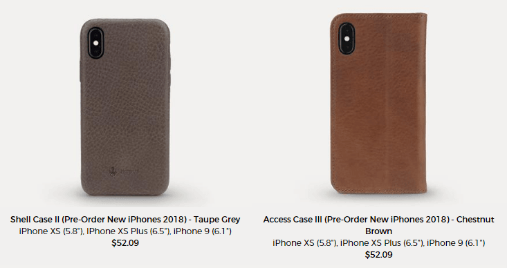 pre-order, iPhone XS Max cases
