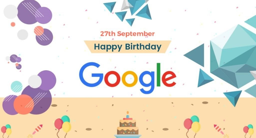 Google's Twentieth Commemoration