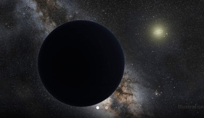 Mysterious Planet Nine