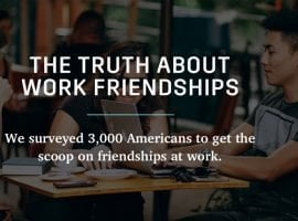 In Finance, Workplace Friendships Take Longer To Form But Number Is Higher