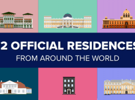 12 Official Residences World Leaders Call Home