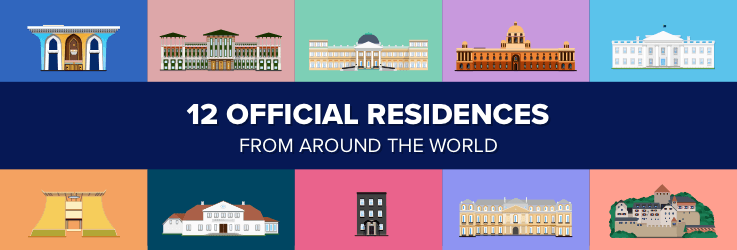 Residences of world leaders
