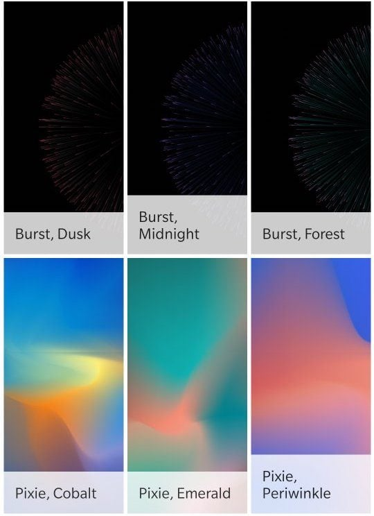 Pixel 3 Leak Wallpapers