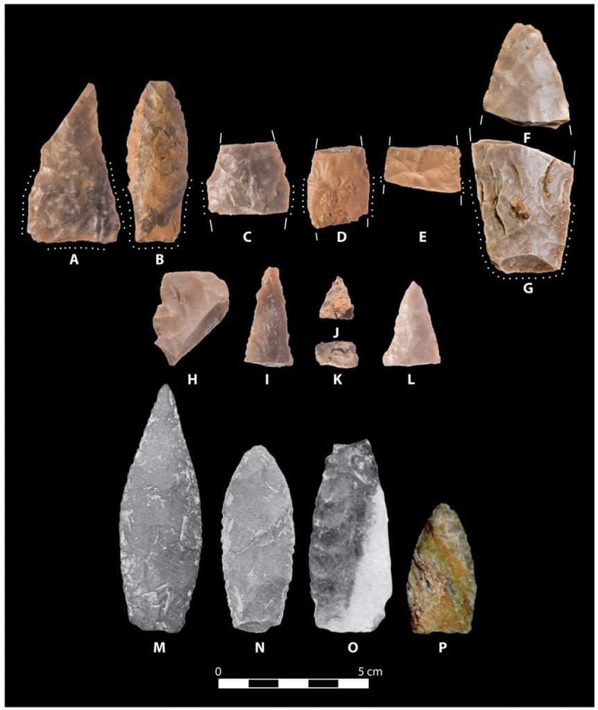 Ancient Spear Points