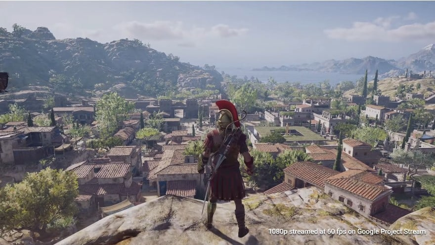 Assassin's Creed Odyssey Google's Project Stream