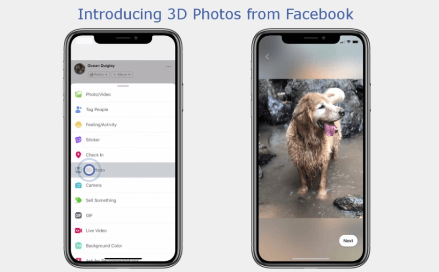 Facebook's 3D Photos