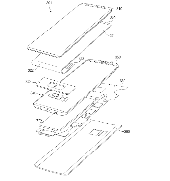 New Samsung Patent in-display fingerprint sensor