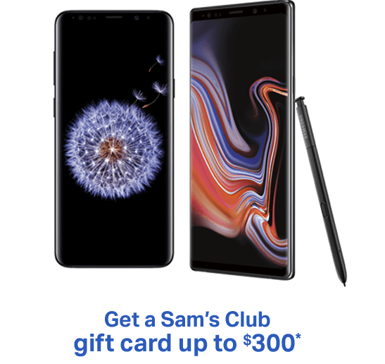 Sam's Club one-day sale event, Galaxy Note 9 deal