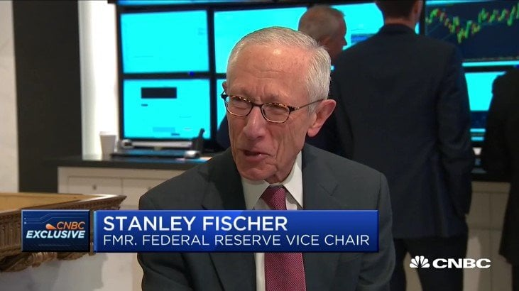 Former Fed Vice Chairman Stanley Fischer