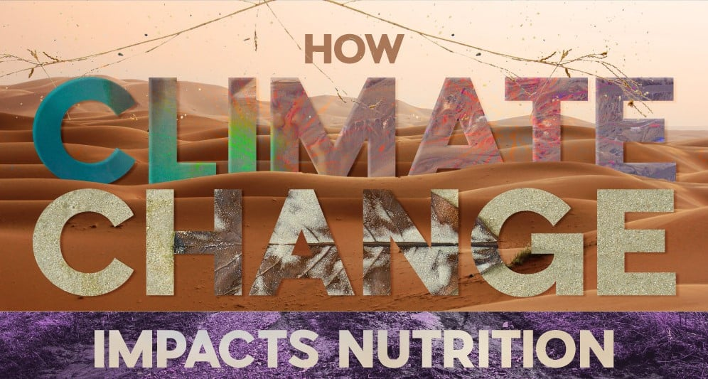 How Climate Change May Affect Nutrition