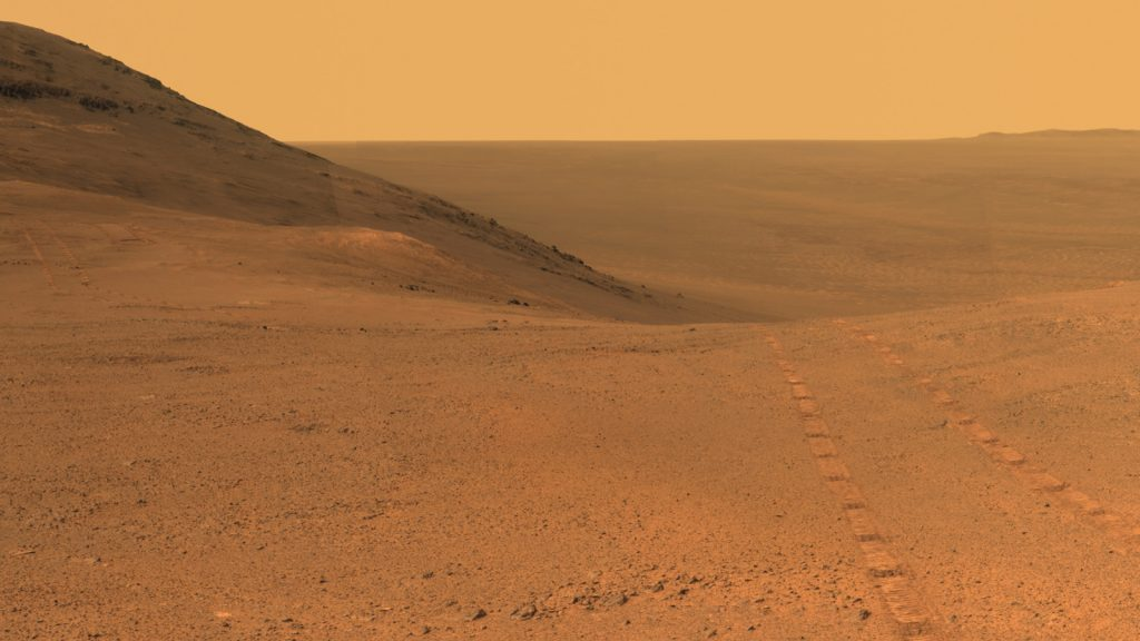 mars opportunity rover signals to earth