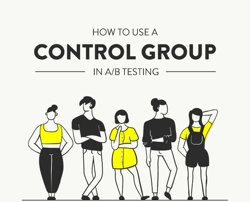 What is a control group in A/B Testing