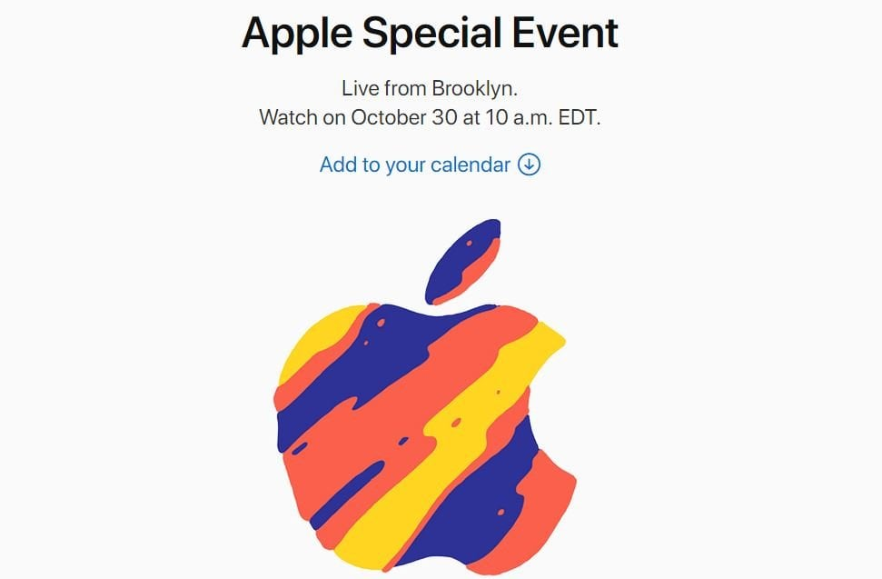 iPad Pro and Mac Event