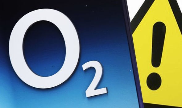 o2 network is down