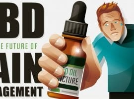 CBD And The Future Of Pain Management [INFOGRAPHIC]