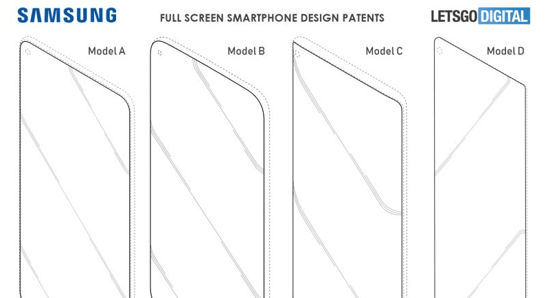 New Galaxy S10 patent
