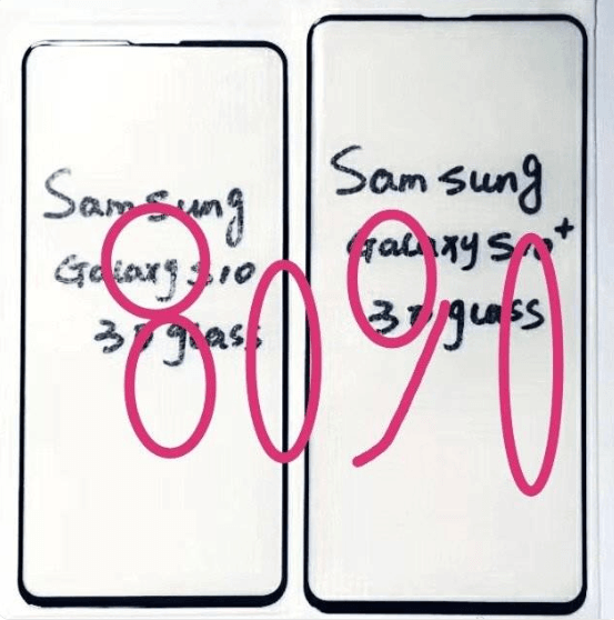 Galaxy S10 3D Glass Screen