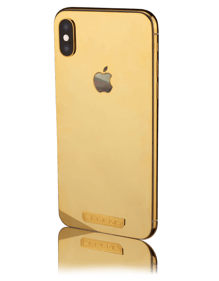Luxury iPhone XS Collection By Legend Helsinki Aurum Bicolor