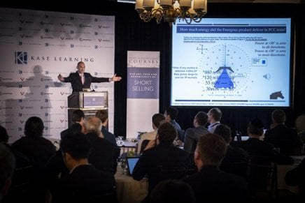 Tilson: Big Discount On Kase Learning Shorting Conference