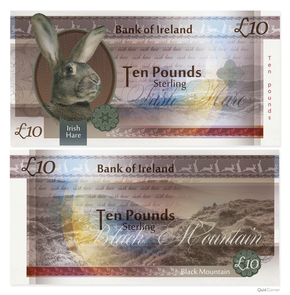 UK Banknotes Endangered Species