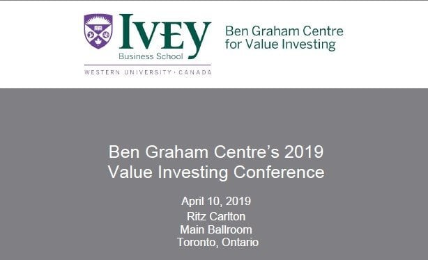 Ben Graham Centre's Events