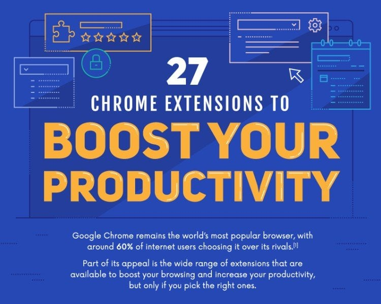 Chrome Extensions That Will Boost Your Productivity