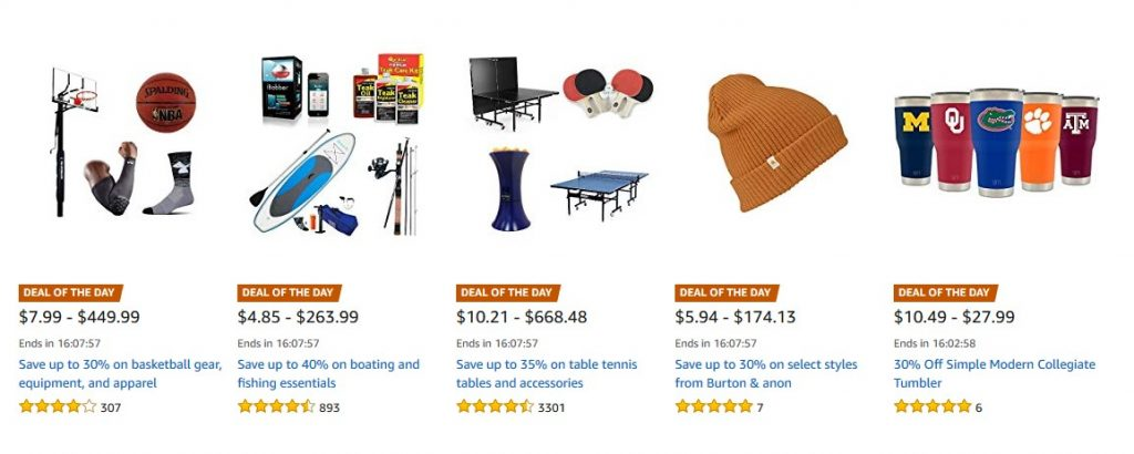 Deals In Sports & Outdoors