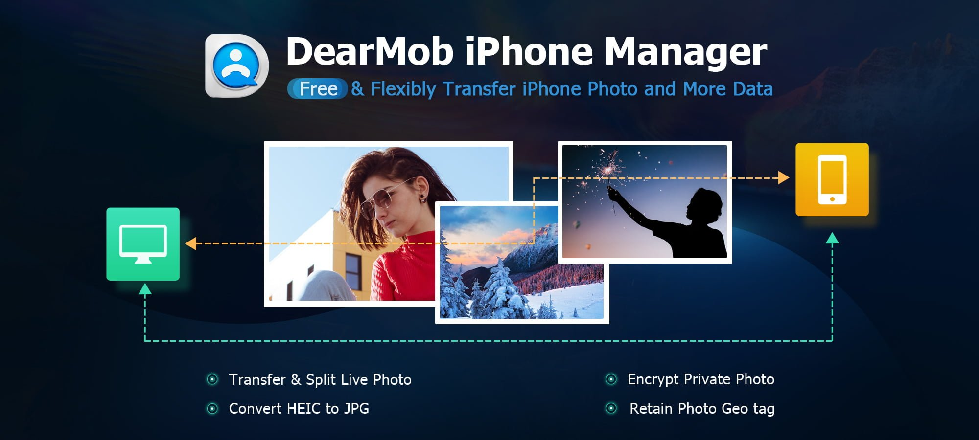 DearMob: iTunes Alternative For Transfering iPhone Photos And Other